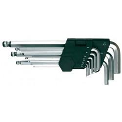 Kugelkopf-Sechskant-Stiftschlüsselsatz