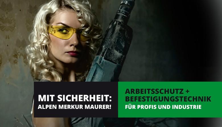 Arbeitsschutz + Befestigungstechnik alpen-merkur.at